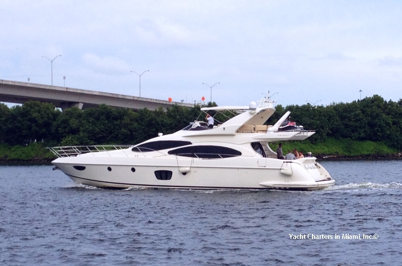 70 Azimut Flybridge Motor Yacht with Jet Ski