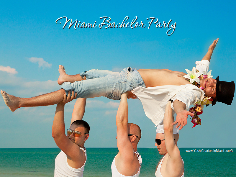 Bachelor Party In Miami Affordable And Fun Yacht Charters