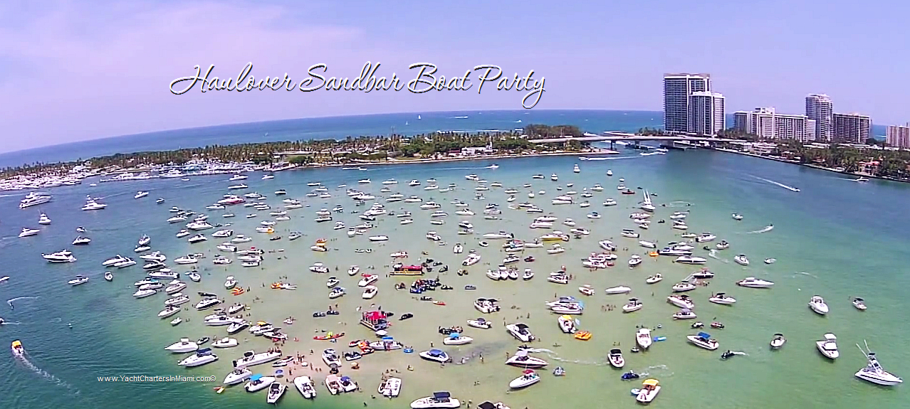 Haulover Sandbar Miami Boat Party Affordable And Fun